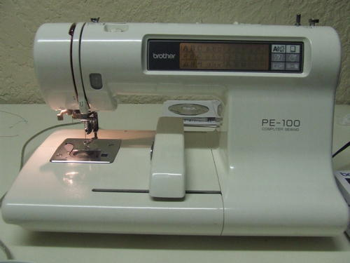 BROTHER PE 100 with PE Design Lite software