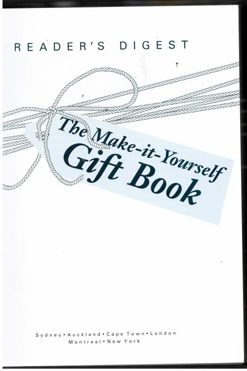Crafts hobbies the make it yourself gift book gifts to make the make it yourself gift book solutioingenieria Gallery