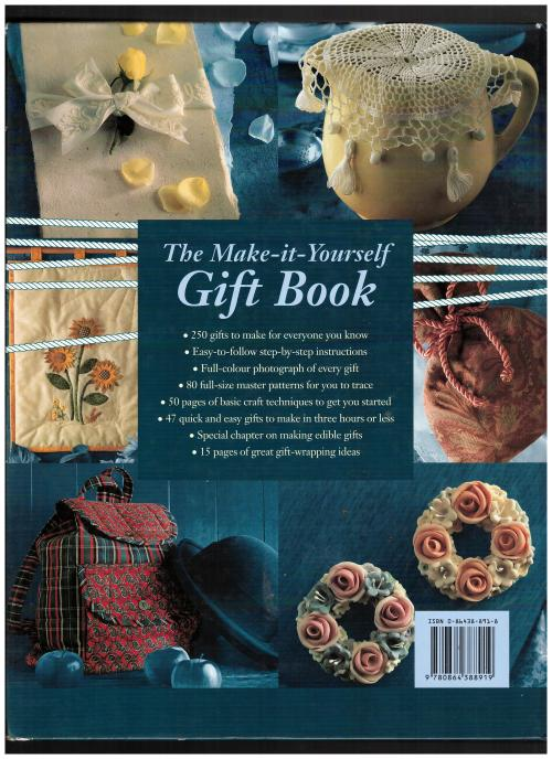 Crafts hobbies the make it yourself gift book gifts to make at the make it yourself gift book solutioingenieria Choice Image