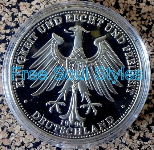 Europe 09111989 Commemorative Deutschland Einig Vaterland Coin