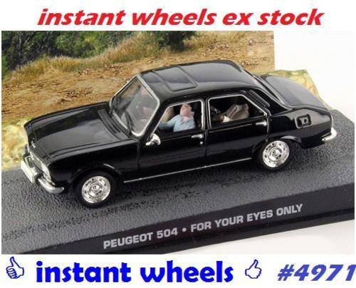 Models Peugeot 504 Ixo Jbond New Boxed Free Shipping 4971 Instant