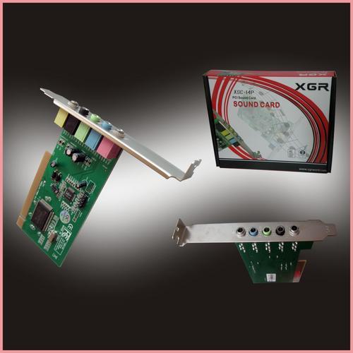 sound cards  brand new in box fm801 6ch sound card 32bit
