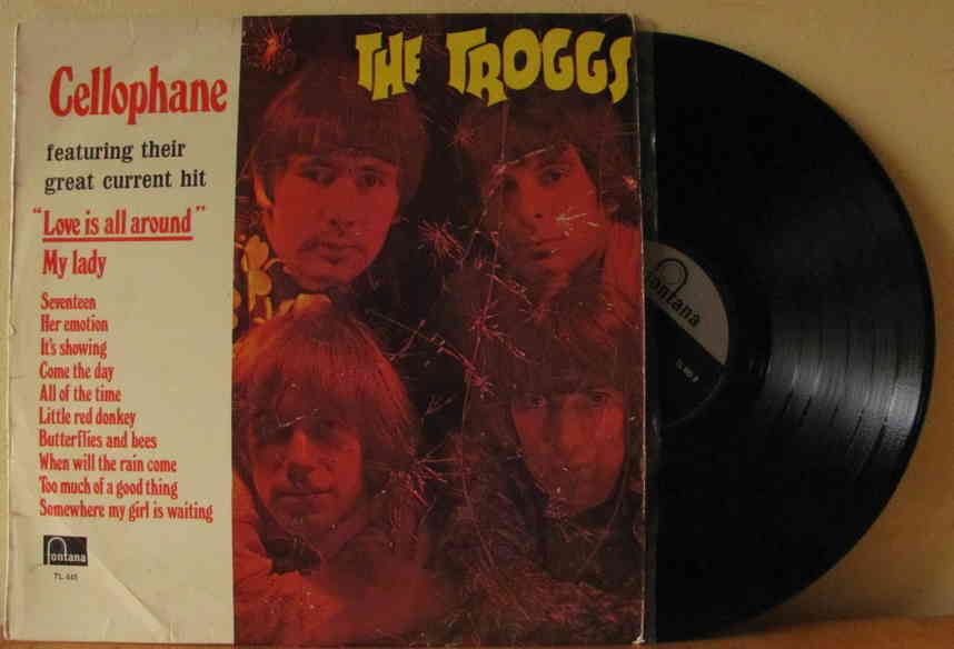 Classic Rock The Troggs Cellophane Was Sold For R40 00