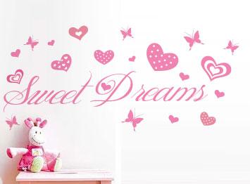 wall decals sweet dreams wall art sticker decal vinyl interior