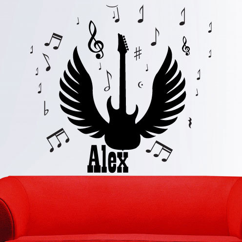 Vinyl wall art comes in a range of colours please see below