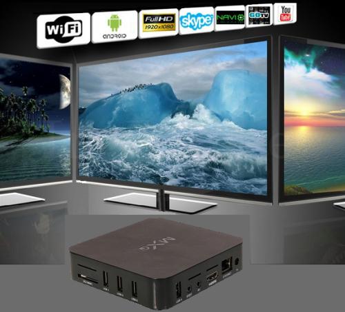 **New 2019** 4K Multimedia TV, PC Box  Android 7 1, Quad-Core WiFi, HDMI, 4  x USB, SD