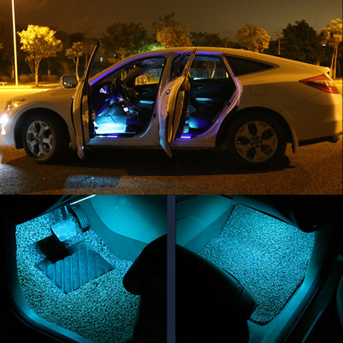Great for lighting up the entire car interior plug and play. & Neon u0026 LED Lights - Car Interior Ambient Mood Lighting kit. Can also ...