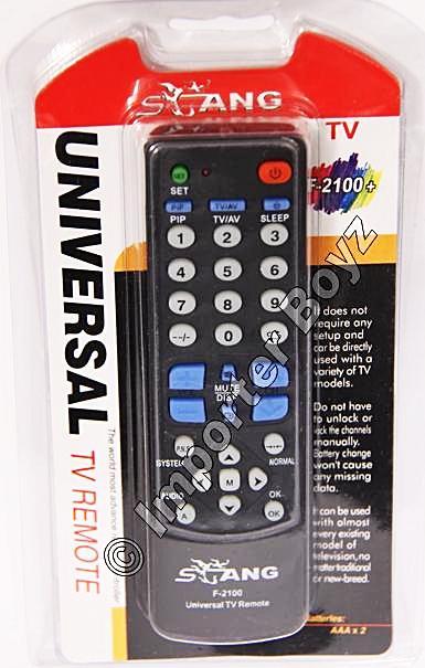 stang universal tv remote manual