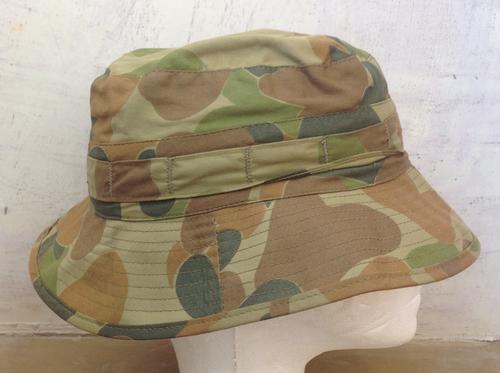 Headgear - AUSTRALIAN AUSCAM WOODLAND CAMO BOONIE HAT (54) was sold ... d5db07cbbcc5