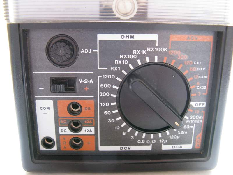 Test equipment hansen multi meter at 3100 japan untested sold as warranty guarantee fandeluxe Choice Image