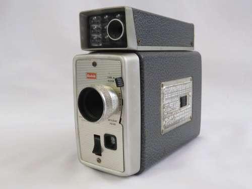 Kodak Brownie Movie camera - Scopesight f/1.9 exposure meter model