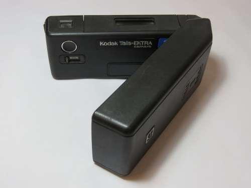 Vintage Kodak Tele Ektra 1 Dual lens 110mm film camera