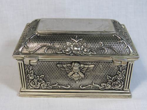 Jewellery Boxes Jewellery Box With Angels Was Listed For