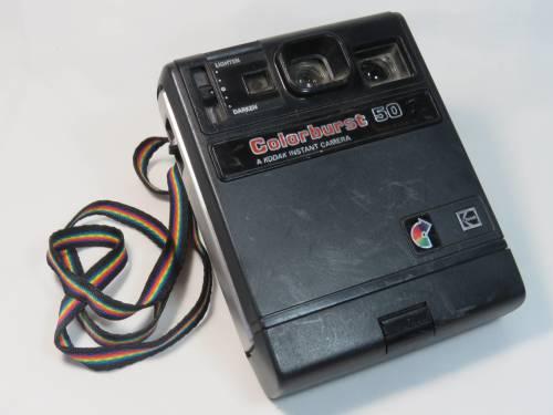 Vintage Kodak Colorburst 50 instant camera