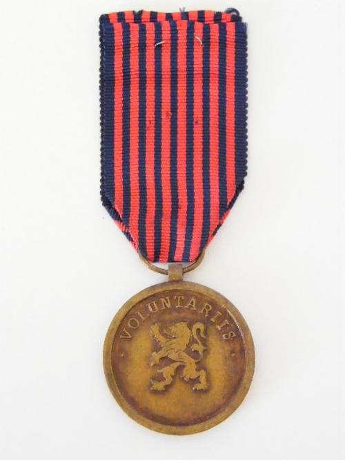 Belgium Volunteers medal - Post WW2 - as per photo