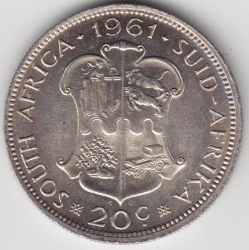 1961 Twenty Cent - Uncirculated - as per photo