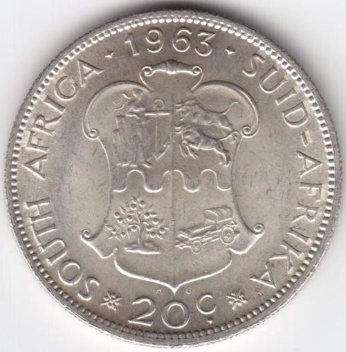 1963 Uncirculated Twenty cent - Excellent - as per photo