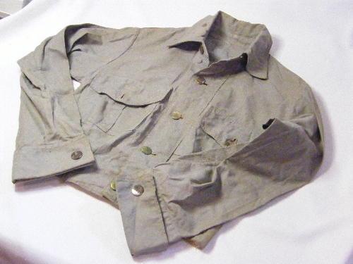 Uniforms - Light blue military WW2 Period bunny jacket with