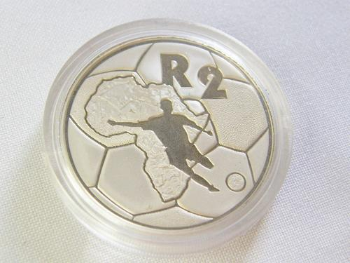 1996 RSA Proof silver R2 - African cup of Nations