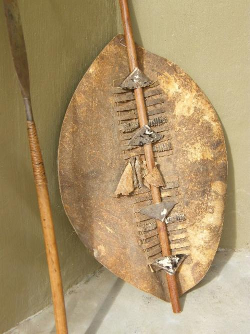 Other Sharp Edged Weaponry Antique Zulu Spear Shield