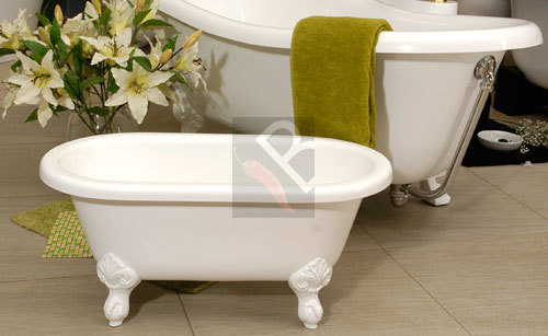 Baths - Victorian Baby Bath - free standing with drain - 25 YEAR ...