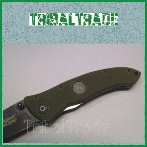 8 to Go!! SMITH & WESSON Extreme Ops FINE EDGE FOLDING KNIFE - 440 S/Steel  Blade! New Arrival!! | bidorbuy co za