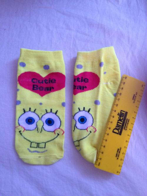 adult sponge bob socks
