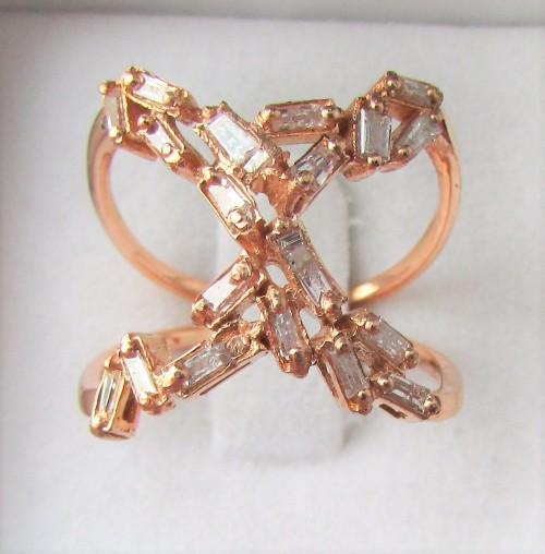 Diamond Rings For Sale Durban: **CELEBRITY DESIGN [R46542]** NATURAL