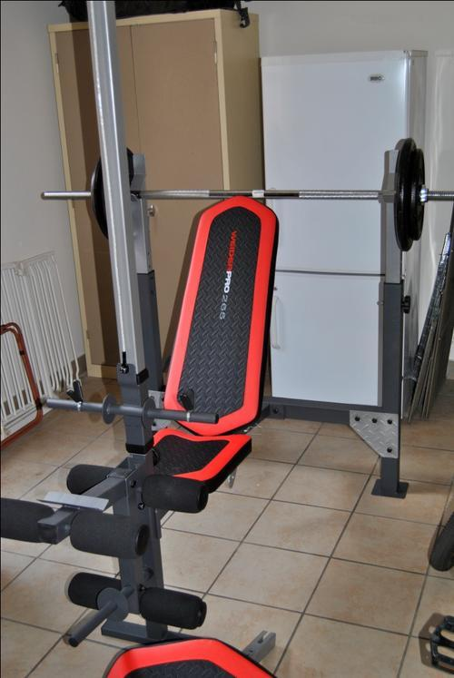 e48f8f788cc Other Strength Training Equipment - Weider Pro 265 Weight Bench was sold  for R2