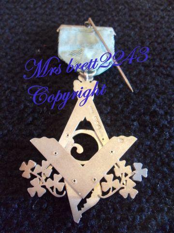 Other Medals - Masonic Freemason Past Master Medal ~Toye