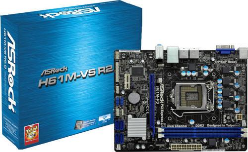 Asrock H61M-VS R2.0 Intel VGA Windows 8 X64