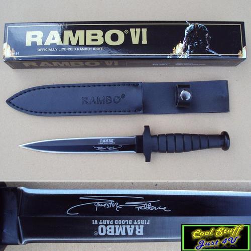 RAMBO FIRST BLOOD PART VI - COMBAT DAGGER!!!