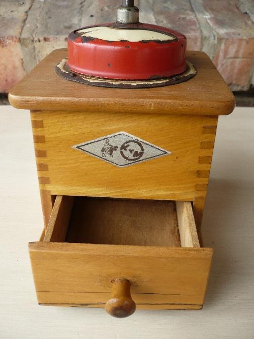 Appliances Antique Kym Wooden Coffee Grinder 1951 Made