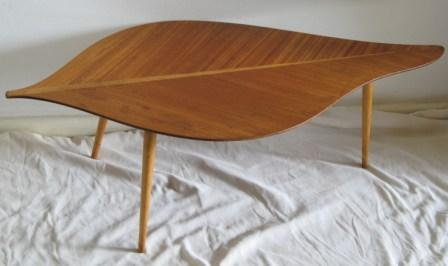 Tables Retro 1950s Danish Style Design Quot Banana Leaf