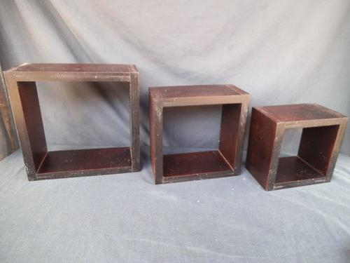 Photo Frames Set Of 3 Floating Wall Cube Display Box Shelves Was Sold For R91 00 On 28 Jan At 22 31 By Heinmar In Springs Id 174226743