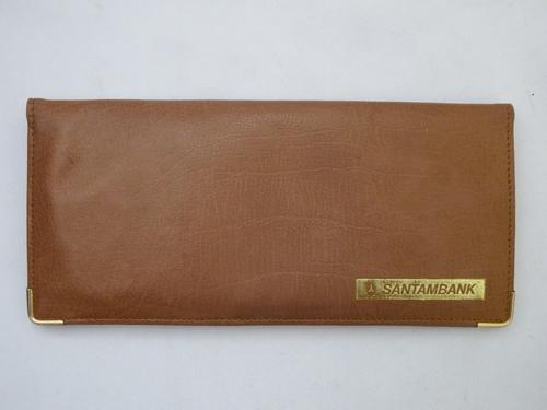 Santambank light brown purse - made of genuine leather in R.S.A