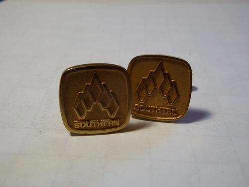 Pair of Southern Life cufflinks - as per photo