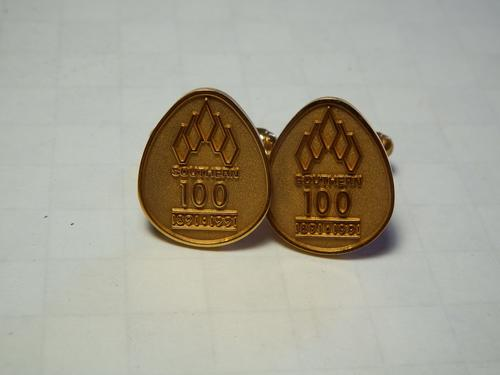Pair of Southern Life 100 years cufflinks - as per photo
