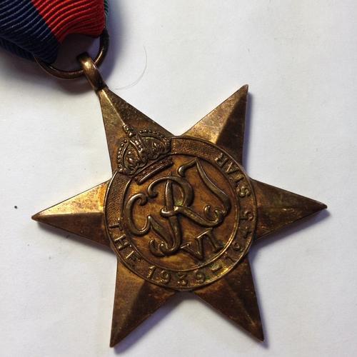 WW2 1939 - 1945 Star issued to C276539 JP Lemmetjies