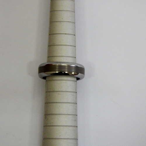 Tungsten ring - Size: J
