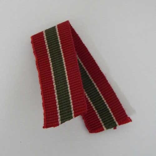 Rhodesia prison long service miniature medal ribbon - 9cm