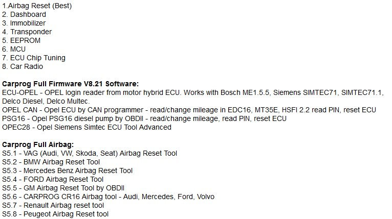 Other Parts & Accessories - CARPROG FULL V8 21 was listed for R2