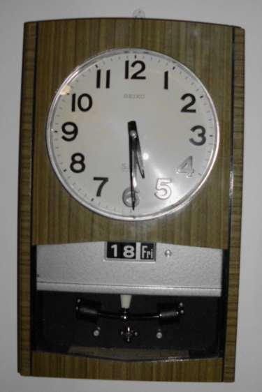Cuckoo Amp Wall Clocks Seiko Sonola Transistor Date Clock