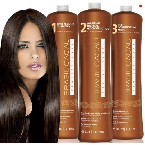 Brasil Cacau Keratin Treatment 50ml DIY Kit R330 (3 Step Treatment)