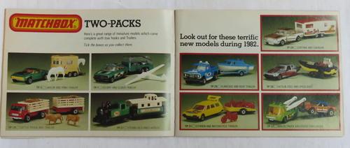 Accessories, Parts & Displays - MATCHBOX 1982/83 COLLECTORS