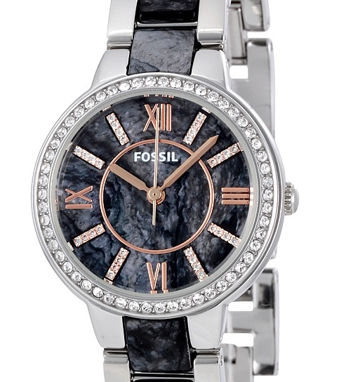 s watches fossil virginia awesome glitter brand