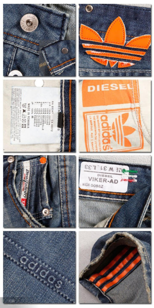 a79891de Jeans - Diesel Adidas Jeans - Limited Edition was sold for R590.00 ...
