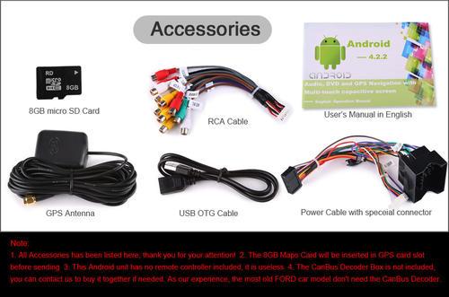 Car Radios - Android 4 2 Car DVD SAT NAV FORD C/S-MAX MONDEO