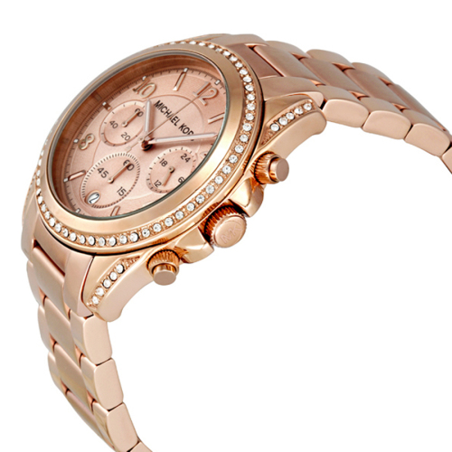 a143e7ba8f76 Women s Watches - LADIES MICHAEL KORS BLAIR ROSE GOLD WATCH MK5263 ...