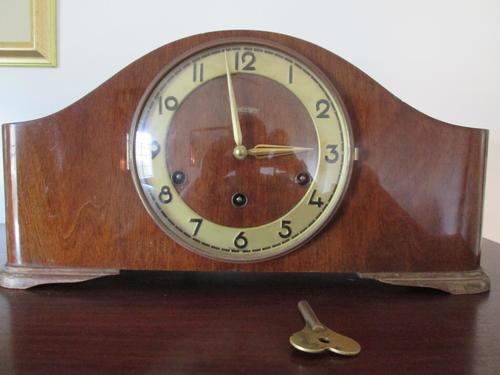 Mantel Clocks Kieninger Beautiful Vintage German Mantle